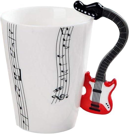 LOVIVER Tazas de Cafe en Ceramica Copa de Porcelana Tazas para ...