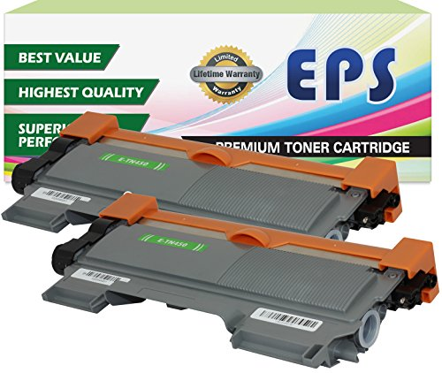 2 Pack EPS Replacement Brother TN450 Black Toner Cartridges (Eps Replacement Brother Tn Toner compare prices)