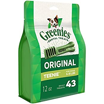 Amazon.com : GREENIES Half Pack Teenie 22 Count : Pet