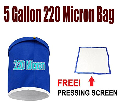 Bubble Bag Micron Sizes - 5