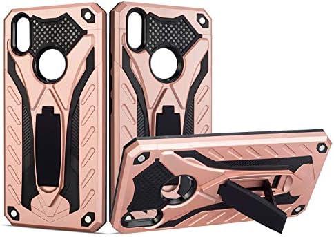 [해외]for VIVO Phone case Protection Stand Shockproof Cover for VIVO V9Y85 / for VIVO Phone case Protection Stand Shockproof Cover for VIVO V9Y85 (Pink)