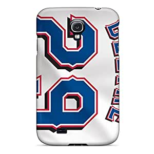 InesWeldon Samsung Galaxy S4 Perfect Cell-phone Hard Cover Unique Design Vivid Texas Rangers Image [fKs7125TDiD]