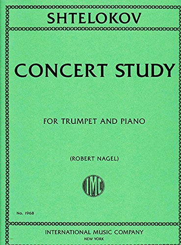 Download SHTELOKOV V. - Estudio de Concierto para Trompeta y Piano (Nagel) PDF