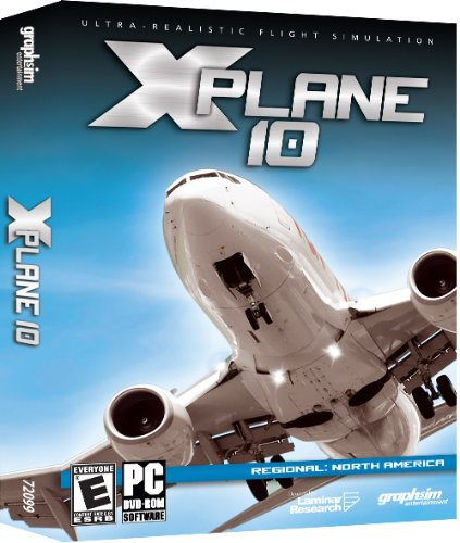 X-Plane 10 Regional North America - (Pc Combat Flight)