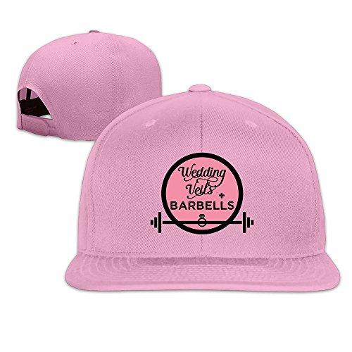 Wedding Veils Barbells Diamond Ring Snapback Hats Flat Brim Baseball Hats