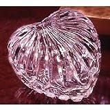 "3.5""""L Crystal Heart Shaped Jewelry Box [Kitchen]"
