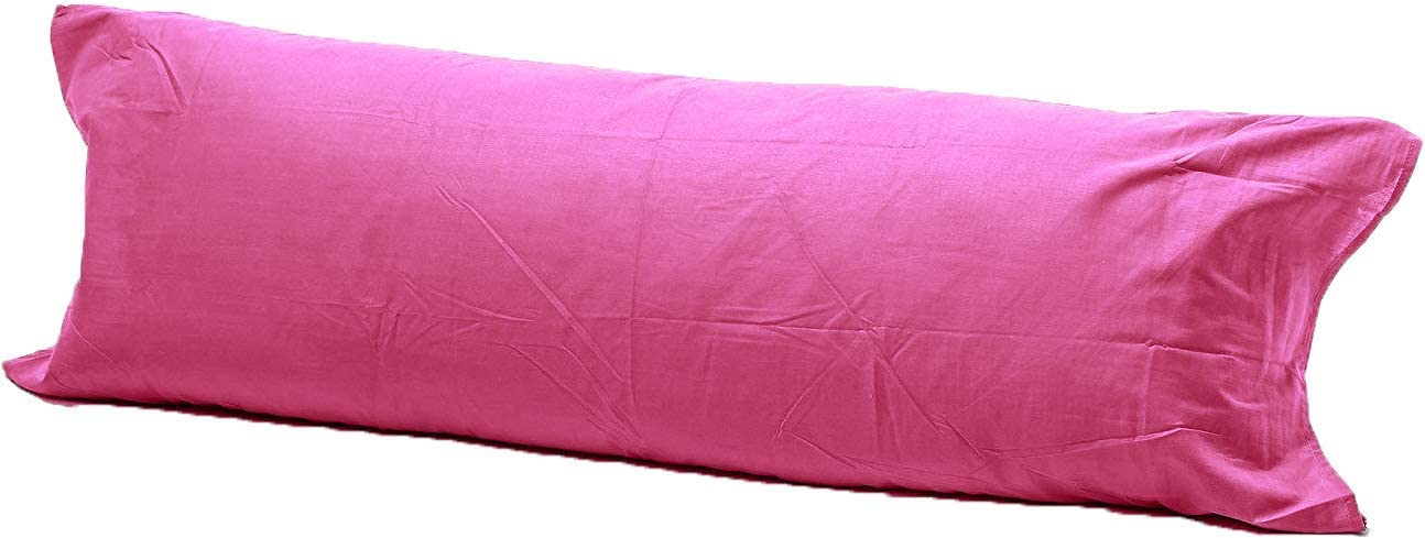 52 Double 4.6FT Pregnancy Maternity Orthopaedic Support Pillowcase AmigoZone Bolster Pillowcases , Black
