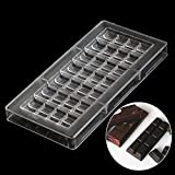 Best Hard Candy candy bar - Grainrain Chocolate Bar PC Mould Clear Polycarbonate Chocolate Review