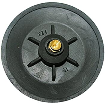 Lasco 04 1601 Rubber Replacement Snap On Seat Disc