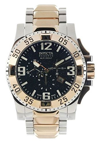 Invicta Men's 0204 Reserve Collection Excursion Chronograph Stainless Steel Watch - Excursion Collection