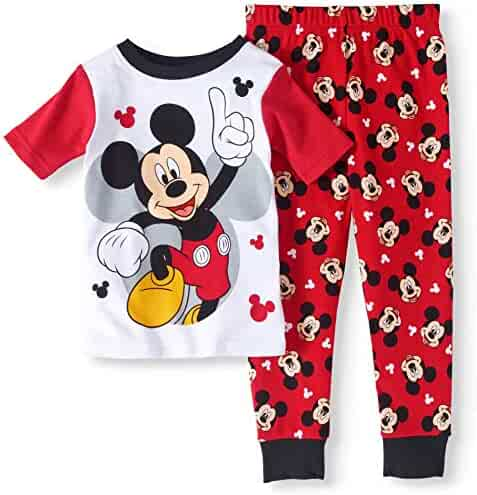 Disney Baby Toddler Boys Mickey Mouse   The Roadster Racers Cotton Snug Fit  Pajamas (4T 86f0152e2