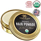 GENTLEMEN'S BLEND USDA Certified Organic Hair Pomade For Men, Made with Shea Butter
