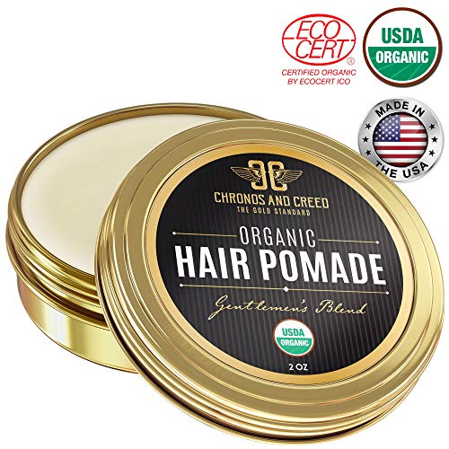 Chronos And Creed - Certified Organic Hair Pomade (Best Pomade For Natural Hair)