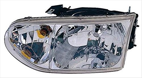 - OE Replacement Mercury Villager/Nissan Quest Van Driver Side Headlight Assembly Composite (Partslink Number FO2502165)