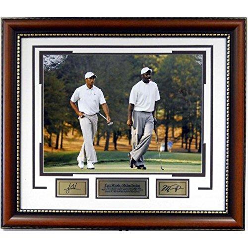 Michael Jordan & Tiger Woods 16x20 Pro-Am