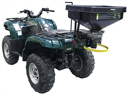 ATV Spreader, 145 lb. Capacity, 1 Hole Drop Type, Variable Speed Flow Control by Fimco (Image #1)
