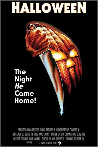 HSE HALLOWEEN the night he came home VINTAGE MOVIE POSTER horror 24X36]()