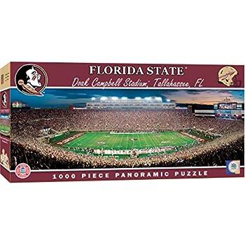 MasterPieces Collegiate Florida State Seminoles 1000 Piece Stadium  Panoramic Jigsaw Puzzle 3f5ba0f37
