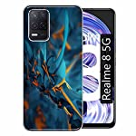 Gismo Designer Printed Soft Silicone Pouch Back Case Mobile Cover for Realme 8 5G / for Boys and Girls – A73