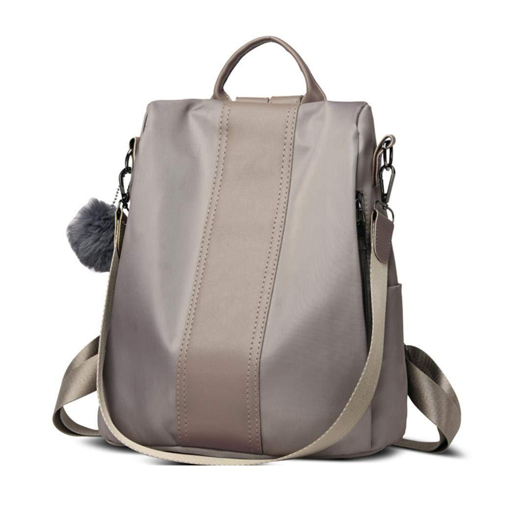 Adjustable Strap Patchwork Waterproof Ladies Rucksack Nylon School bags Anti-theft Dayback Mandii Women Backpack