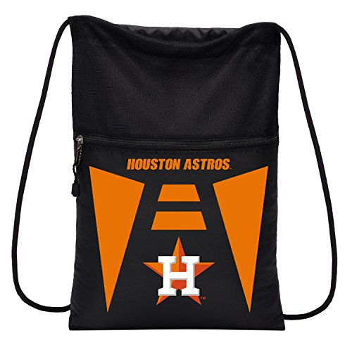Houston Astros Bag - Northwest 1MLBBC7001013RTL Houston Astros Team Tech Backsack, Black, One Size