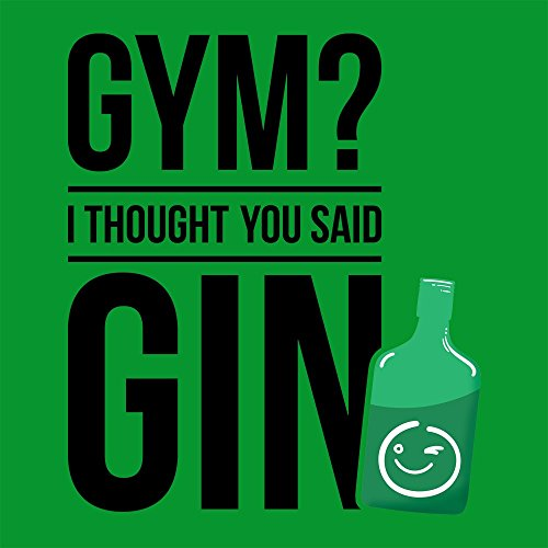 Thought Gin You Green Bag Gym I Tote Said qn4O15