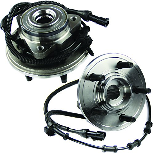 MOTORMAN 515050 Front ABS Wheel Hub and Bearing Set - Both Left and Right - Pair of 2 ()