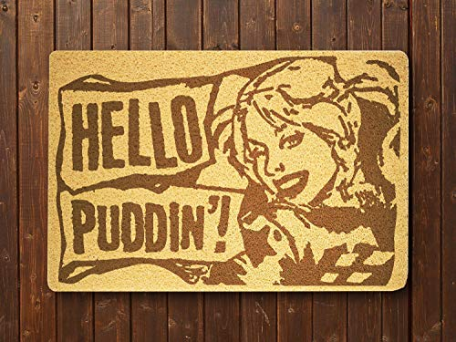 Harley Quinn Doormat Sweet Home Supplies Décor Accessories Unique Gift Handmade Present Idea Original Design Commercial Outside Inside Personalized Quotes Exterior -