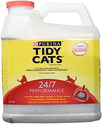 Purina Tidy Cats 24/7 perfumada Arena para gatos, 6,35 Kg