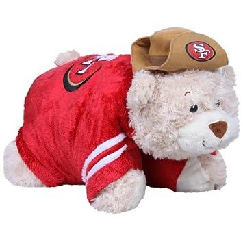 Amazon.com : NFL San Francisco 49ers Pillow Pet : Childrens Plush ...