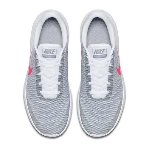 Rn Compétition Femme Grey wolf hyper De Flex Running 7 W Experience Chaussures White Nike Pink Z86tzt