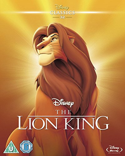 The Lion King (Limited Edition Artwork Sleeve) [Blu-ray] [Region Free]