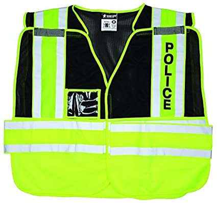 46bc2c5caaf9 Image Unavailable. Image not available for. Color  MCR Safety PSV402 Solid  Fabric Front Public Safety Vest with Mesh Back