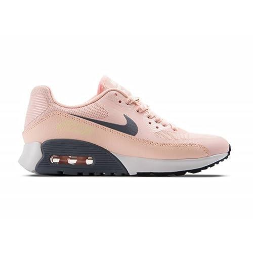 Zapatillas Nike - W Air MAX 90 Ultra 2.0 Rosa/Gris/Blanco Talla: 43: Amazon.es: Zapatos y complementos