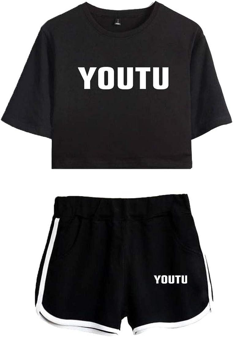 CTOOO T-Shirts Shorts Shawn Mendes V/êtements Comm/émoratifs Femme Ado Casual Ete XS-XXL