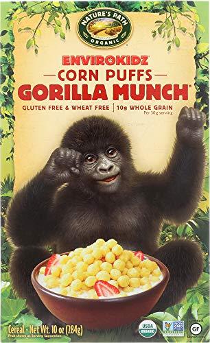 Envirokidz (NOT A CASE) Organic Corn Puffs Gorilla Munch - Gorilla Envirokidz Organic