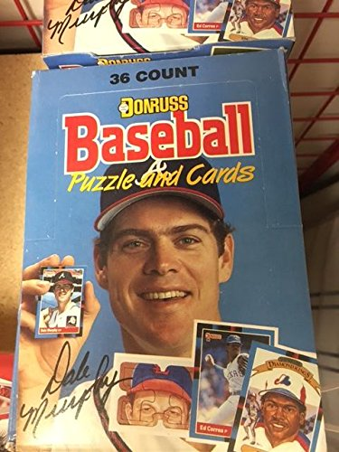 1988 Donruss Baseball Wax Box 36 Packs Per Box 15 Cards Per Pack (540 Cards per (Baseball Unopened Wax)
