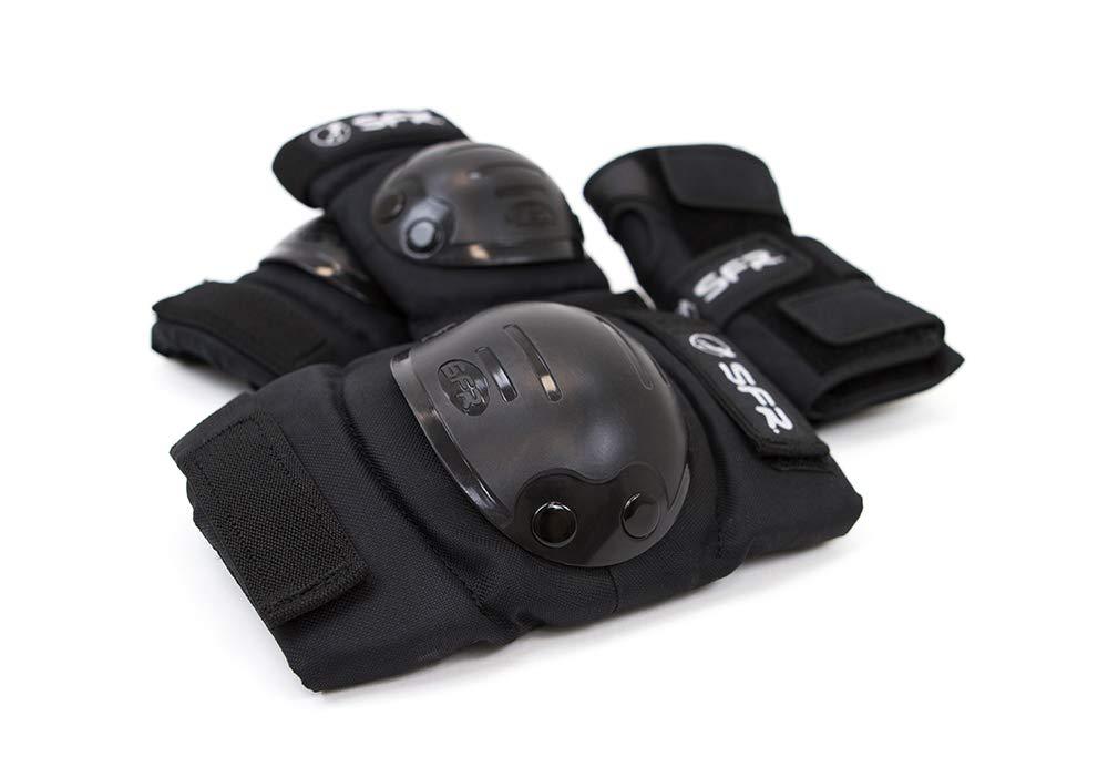 Stateside Child//Youth Triple Protective Pad Set Black