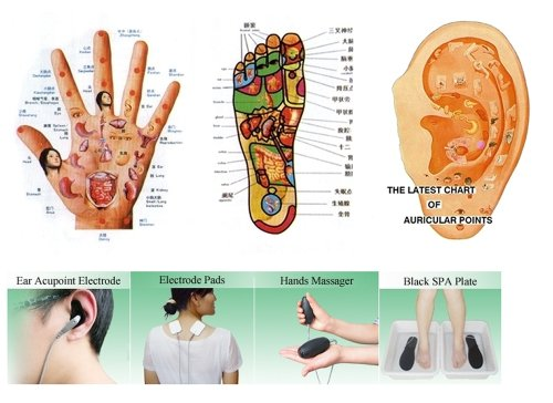 Health Check Systems Medicomat-291E Health Care Management Computer Hand Foot Knee Elbow Pads Therapy by Medicomat (Image #4)