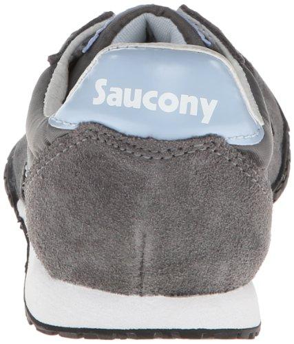 Saucony Original Kvinna Bullet Gymnastiksko Mörkgrå / Ljusblå