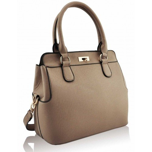 Celebrity Satchel Shoulder Crossbody Nude Ladies Handbag Style Style Women 2 Bag Tote Tote Fashion Leather IwxqwXnt