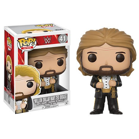 WWE- Figura Mill Dollar Man Old School (Funko 14254) , color/modelo surtido