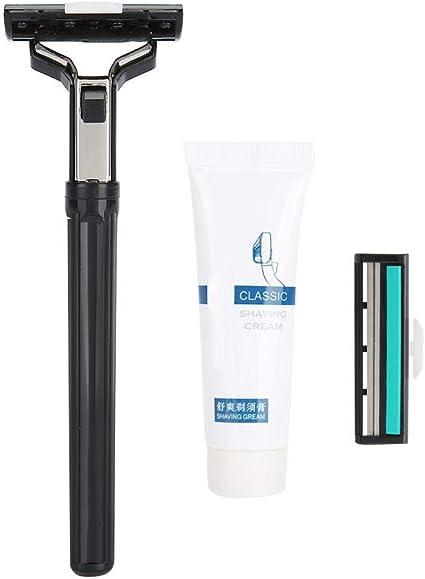 Maquinilla de afeitar manual, rasuradora desechable suave con ...