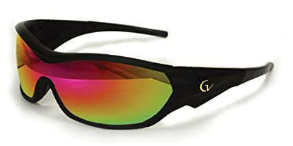 7da7a64fb9 Image Unavailable. Image not available for. Color  2017 Maxx Sunglasses TR90  Gold Vision HD 2 Lens V-Touch Black Frame