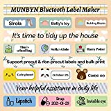 Bluetooth Label Maker, MUNBYN Portable Labeler