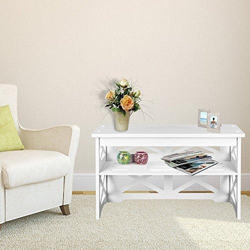 TopHomer Shoe Rack Bench Storage Oragnizer Holder Stand Boot Tray Display Rack Shelf Bedroom Living Room