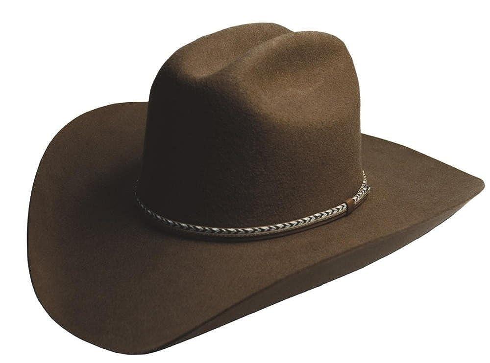 Amazon.com  Silverado Hats WINCHESTER 2X Wool Felt Cattleman Crown Western  Cowboy Hat  Clothing 4177b5a9ad5
