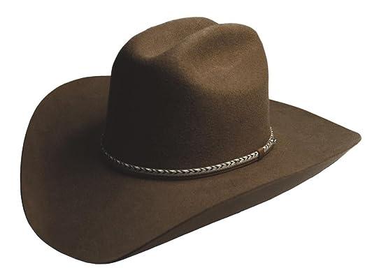 f9b686191942d Amazon.com  Silverado Hats WINCHESTER 2X Wool Felt Cattleman Crown ...