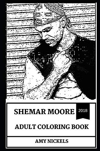 Shemar Moore Adult Coloring Book: Criminal Minds Star and Legendary Fashion Model, Sex Symbol and Emmy Awards Winner Inspired Adult Coloring Book (Shemar Moore Books)