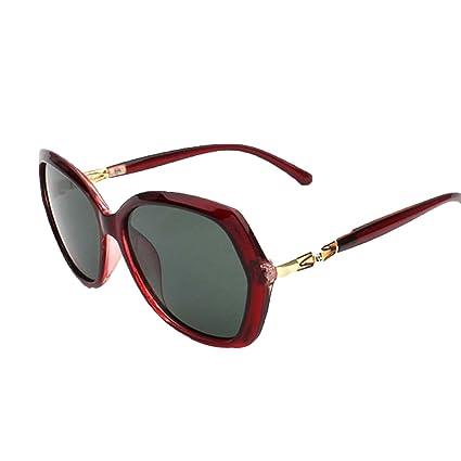Gafas De Sol Polarizadas Huecas De La Moda De La Señora Opcionales,Jhkhp-OneSize